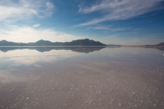 Bonneville Salt Flats International Speedway Stock Images