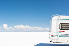 Bonneville Salt Flats Stock Photography