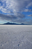 Bonneville Salt Flats in Utah Stock Image