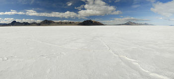 Bonneville Salt Flats, Utah Stock Photography