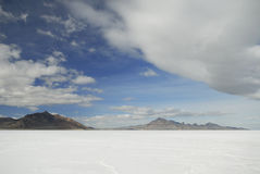 Bonneville Salt Flats, Utah Royalty Free Stock Photos