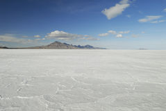 Bonneville Salt Flats, Utah Royalty Free Stock Photo