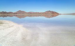 Bonneville Salt Flats Royalty Free Stock Photography