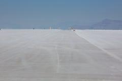 Bonneville Salt Flats in Utah Royalty Free Stock Images