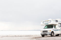 Bonneville Salt Flats Stock Image