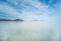 Bonneville-Salz-Ebenen, Tooele County, Utah, Vereinigte Staaten stockfotos