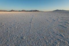 Bonneville-Salz-Ebenen, Utah Lizenzfreies Stockbild