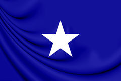 Bonnie Blue flag of the Confederate States of America Royalty Free Stock Images