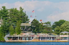 Bonnie Castle Resort Alexandria Bay, Etats-Unis images libres de droits