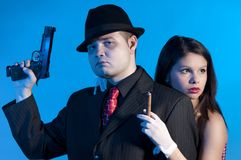Bonnie and clyde Stock Photography