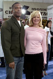 Bonnie Hunt and David Alan Grier Royalty Free Stock Images