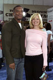 Bonnie Hunt and David Alan Grier Stock Photography
