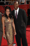 Bonnie-Jill Laflin,Jerry Rice Stock Images