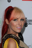 Bonnie McKee at the EMI Music 2012 Grammy Awards Party, Capital Records, Hollywood, CA 02-12-12 Royalty Free Stock Image