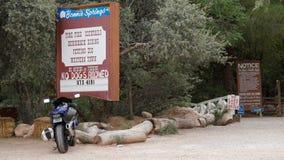 Bonnie Springs Ranch in Las Vegas, Nevada royalty-vrije stock afbeelding