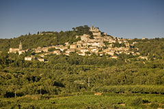 Bonnieux. Village of Bonnieux (France, Provence, Luberon Royalty Free Stock Photo
