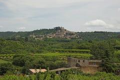 bonnieux De Luberon wioski Zdjęcia Stock
