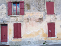 Bonnieux. France -  October 17, 2012: French Village in the Provence, France Stock Photography