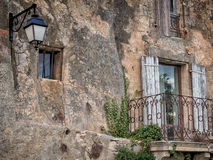 Bonnieux. France -  October 17, 2012: French Village in the Provence, France Royalty Free Stock Images