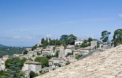 bonnieux France wioska Obraz Stock