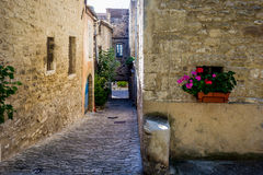 Bonnieux lane, Provence Royalty Free Stock Photo
