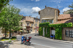 Bonnieux in the Luberon. The hill top village of Bonnieux in the Luberon in Provence Royalty Free Stock Photos
