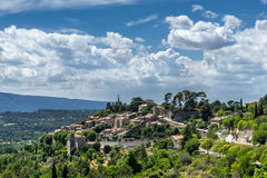 Bonnieux in the Luberon. The hill top village of Bonnieux in the Luberon in Provence Royalty Free Stock Photography
