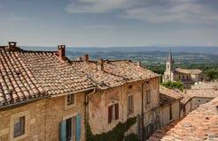 Bonnieux - Luberon - Provence - Frankrike Royaltyfria Foton