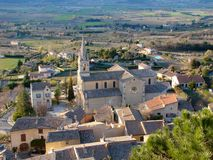 Bonnieux in Provence. Bonnieux, a small village in Provence, France Royalty Free Stock Photography
