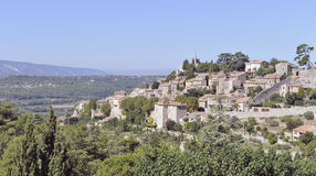 Bonnieux in Provence, Frankreich Stockfotos