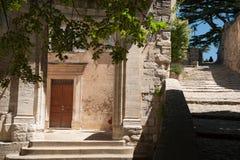 Bonnieux steps Stock Photo