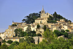 Bonnieux. View of the medieval town Bonnieux, Luberon, southern France Stock Image