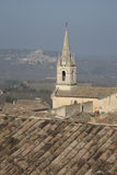 Bonnieux Village Church; Provence Stock Photography