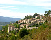 Bonnieux village in Provence Royalty Free Stock Photos