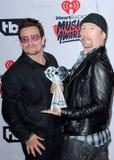 Bono и край Стоковые Изображения