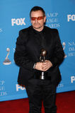 Bono. At the 38th NAACP Image Awards at the Shrine Auditorium, Los Angeles. He was honoured with The Chairman's Award for his humanitarian work in Africa. March stock images