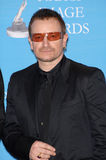 Bono. At the 38th NAACP Image Awards at the Shrine Auditorium, Los Angeles. He was honoured with The Chairman's Award for his humanitarian work in Africa. March stock photos