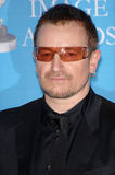 Bono. At the 38th NAACP Image Awards at the Shrine Auditorium, Los Angeles. He was honoured with The Chairman's Award for his humanitarian work in Africa. March royalty free stock photography