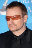 Bono. At the 38th NAACP Image Awards at the Shrine Auditorium, Los Angeles. He was honoured with The Chairman's Award for his humanitarian work in Africa. March royalty free stock image