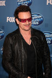 Bono. LOS ANGELES - MAY 25: Bono in the 2011 American Idol FInale Press Room at Nokia at LA Live on May 25, 2011 in Los Angeles, CA stock images