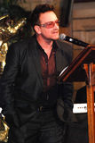 Bono. At The Arch Bishop Emeritus Desmond Tutu's official book launch 2011 Royalty Free Stock Photo