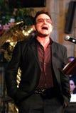 Bono. At The Arch Bishop Emeritus Desmond Tutu's official book launch 2011 stock photo