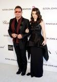 Bono и Eve Hewson Стоковое Изображение