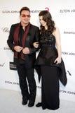 Bono och Eve Hewson Royaltyfria Bilder