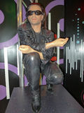 Bono of the rock band U2. Lead singer of the rock band U2, Bono cast in wax at Madame Tussauds wax museum in Las Vegas stock photography