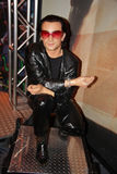 Bono wax statue. At the Madame Tussauds museum in New York City Manhattan.Photo taken on: July 19th, 2008 stock image
