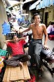 Bons amigos Vietname fotografia de stock