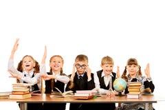 Bons estudantes Foto de Stock