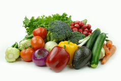 Bons veggies Photo stock