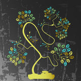 Bonsai background Stock Image